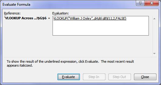 How Excel formulas work